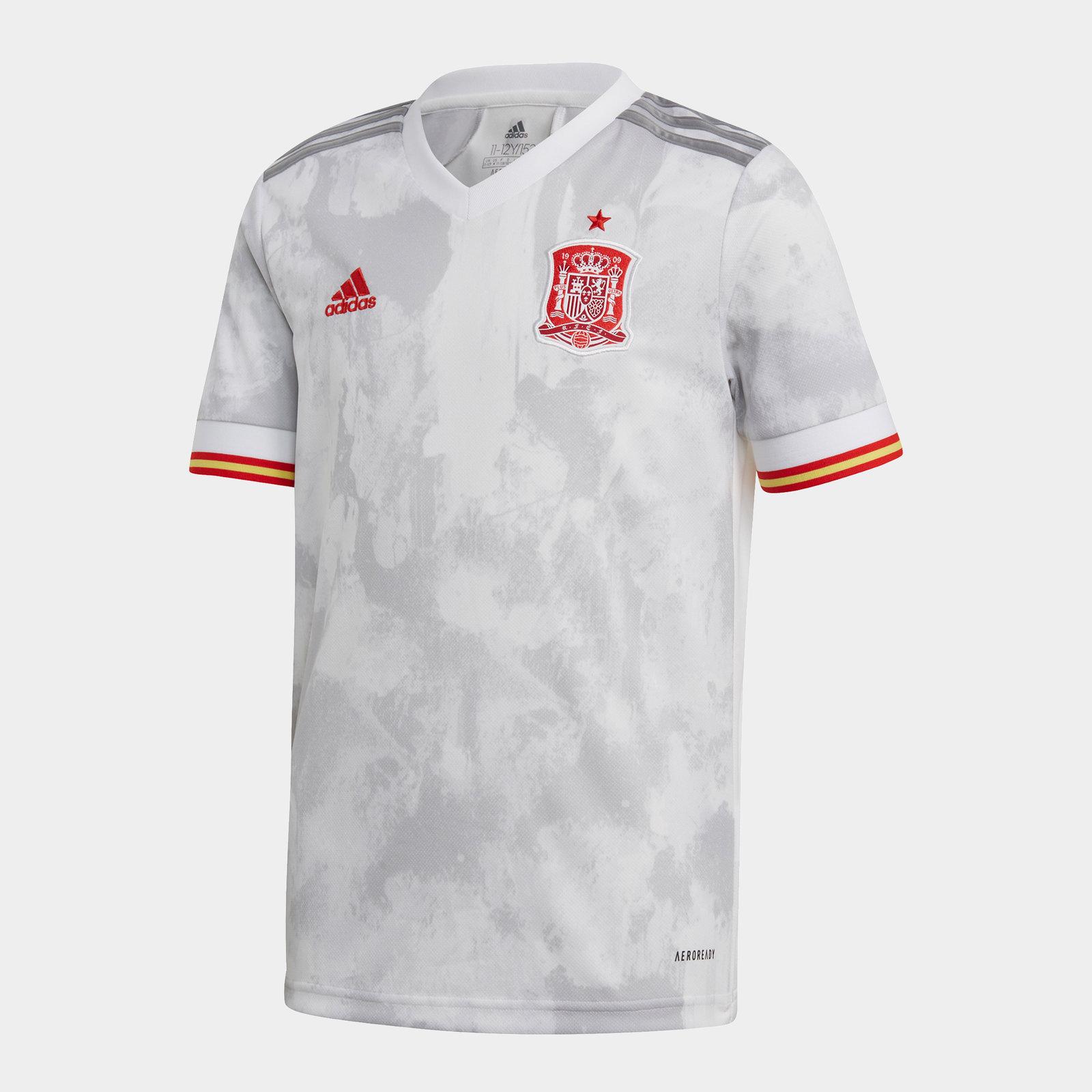 Spain 2020 Kids Away Football Shirt