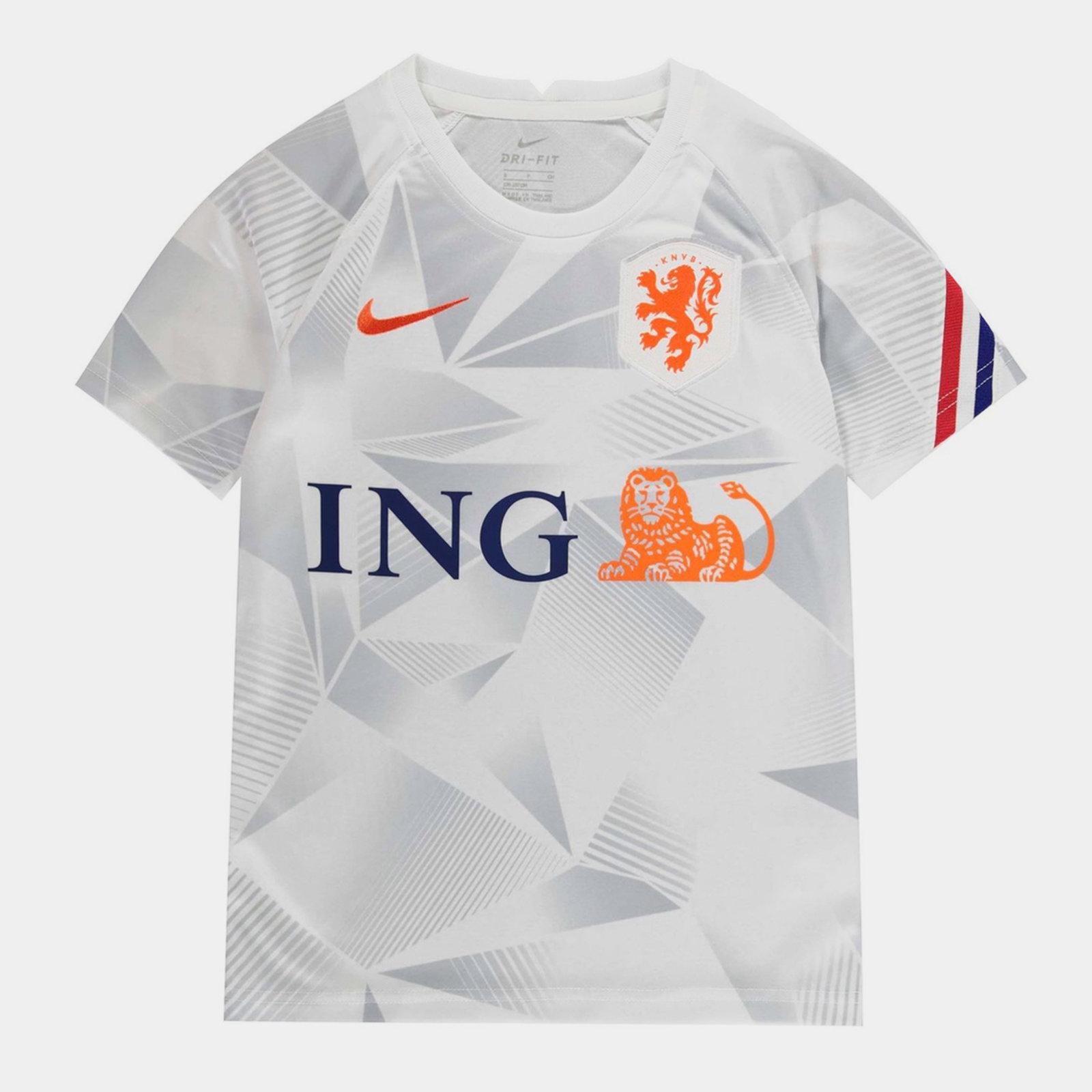 Netherlands Pre Match Shirt 2020 Junior