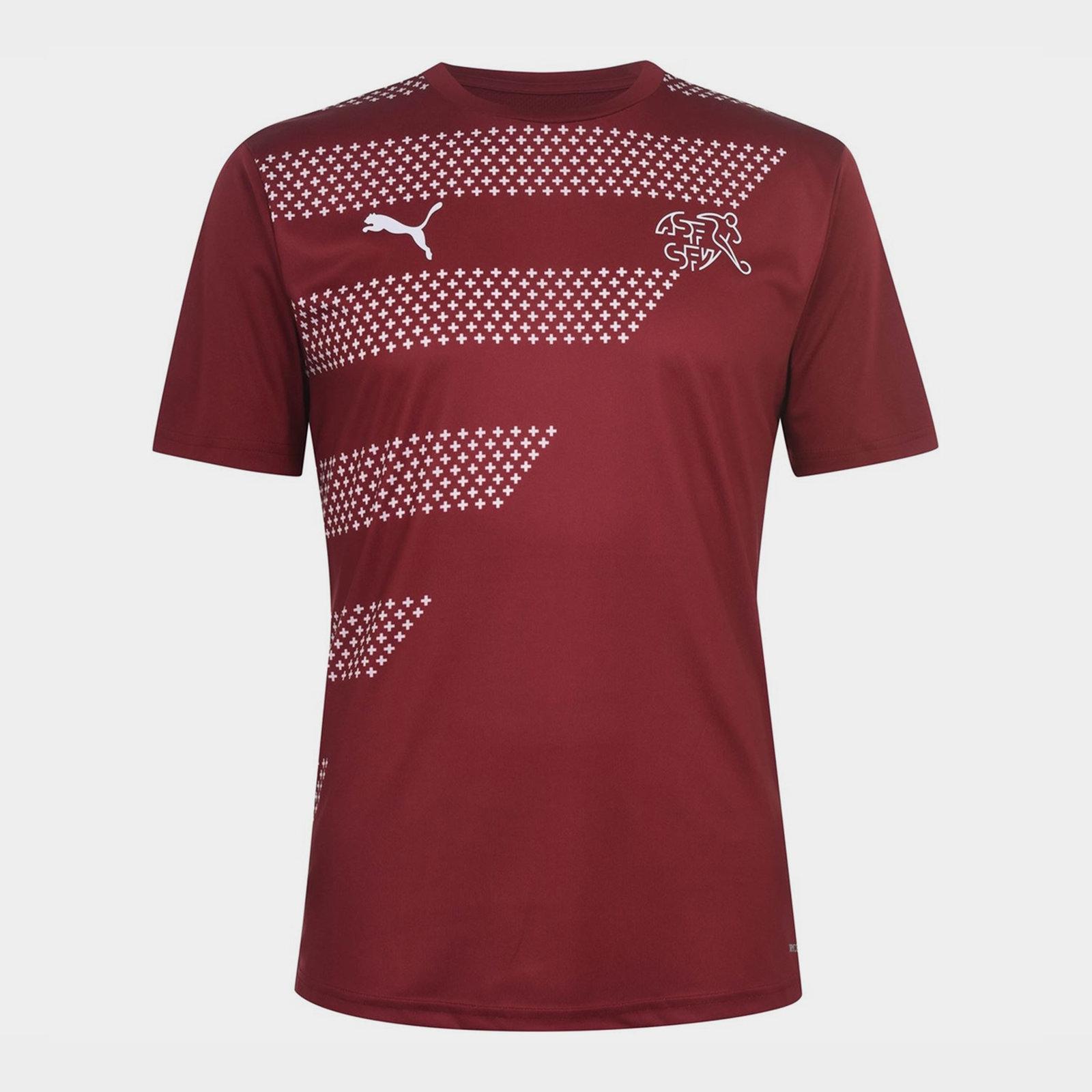 Switzerland pre match футболка