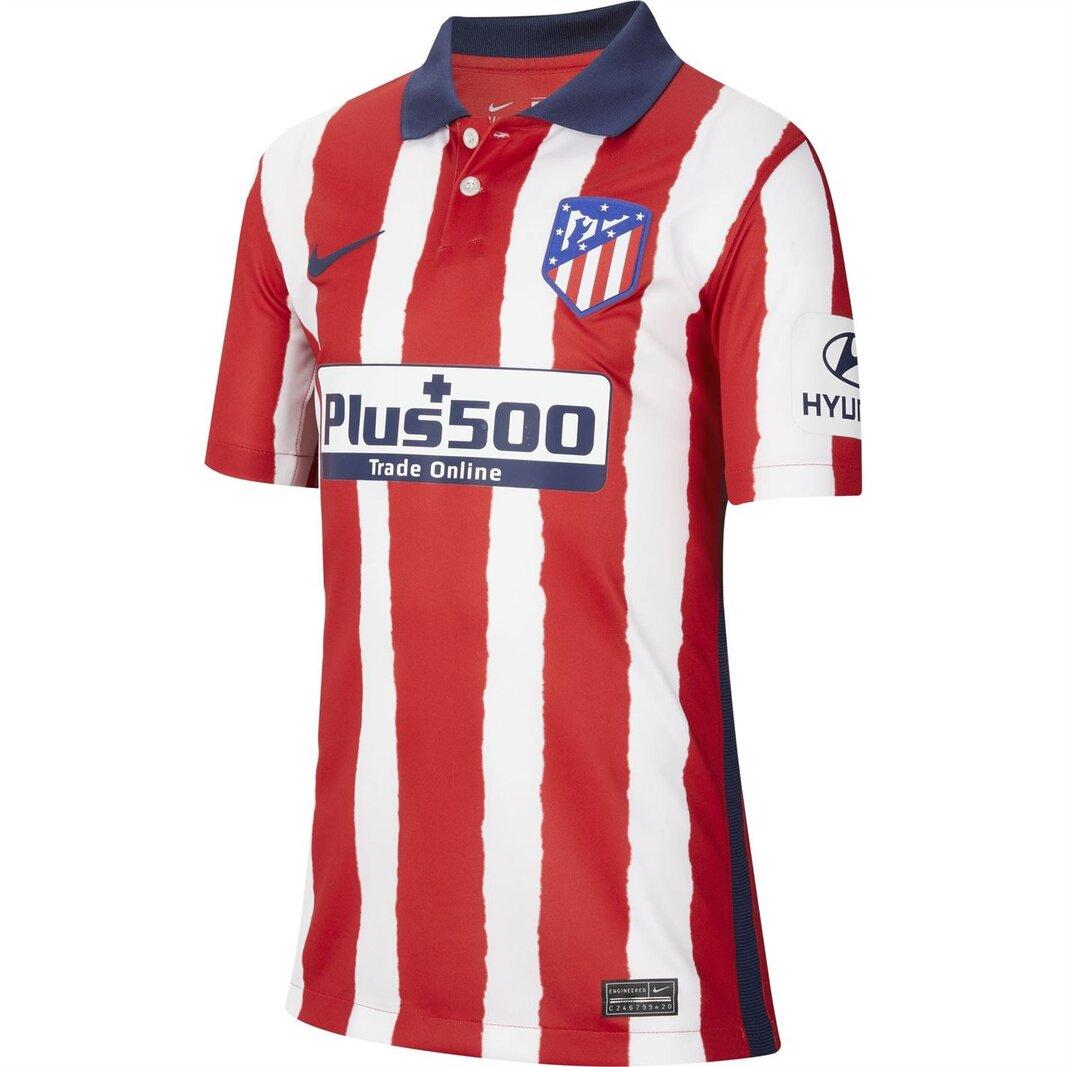 Atletico Madrid Home Shirt 2020 2021 Junior