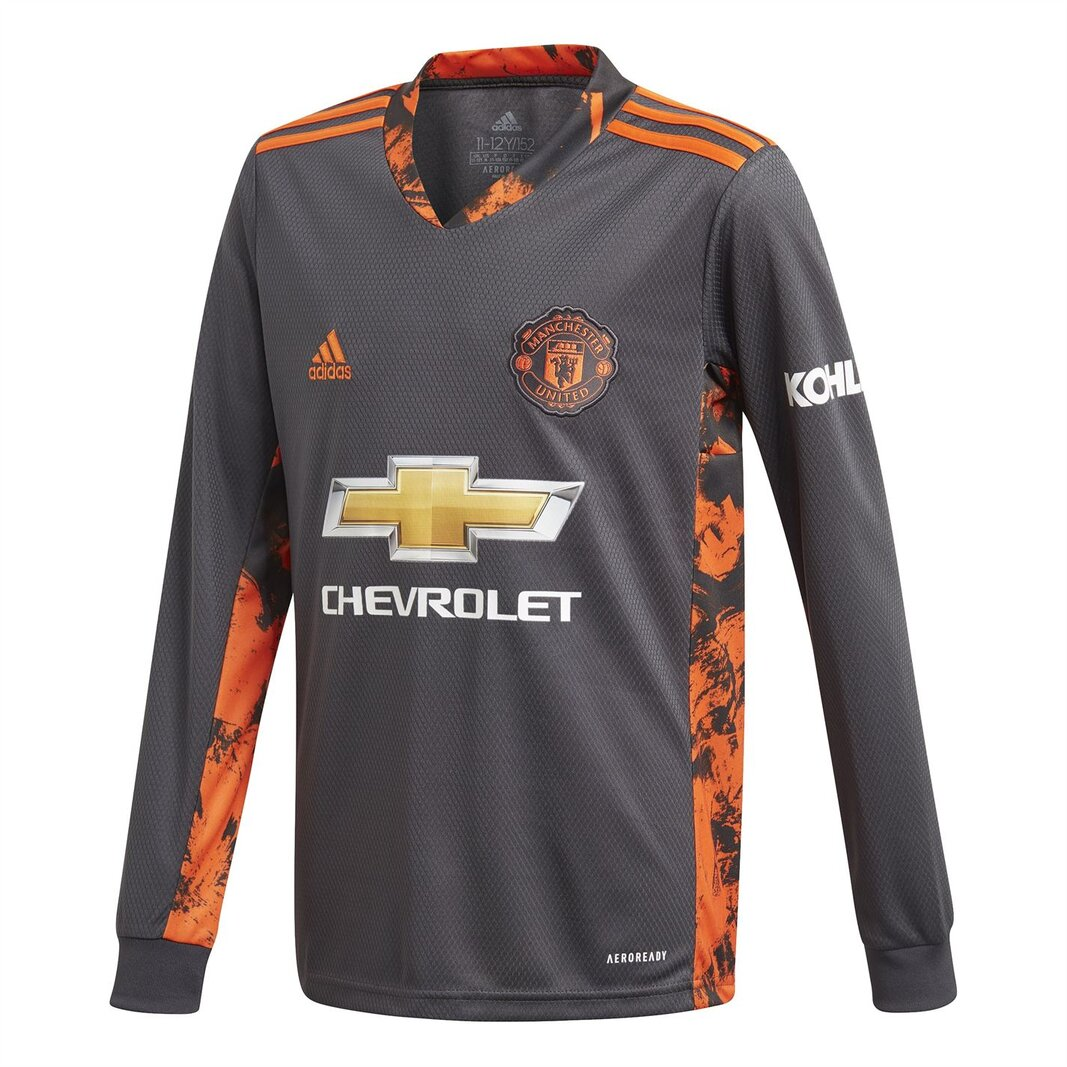 Manchester United Home Goalkeeper Shirt 20/21 Kids