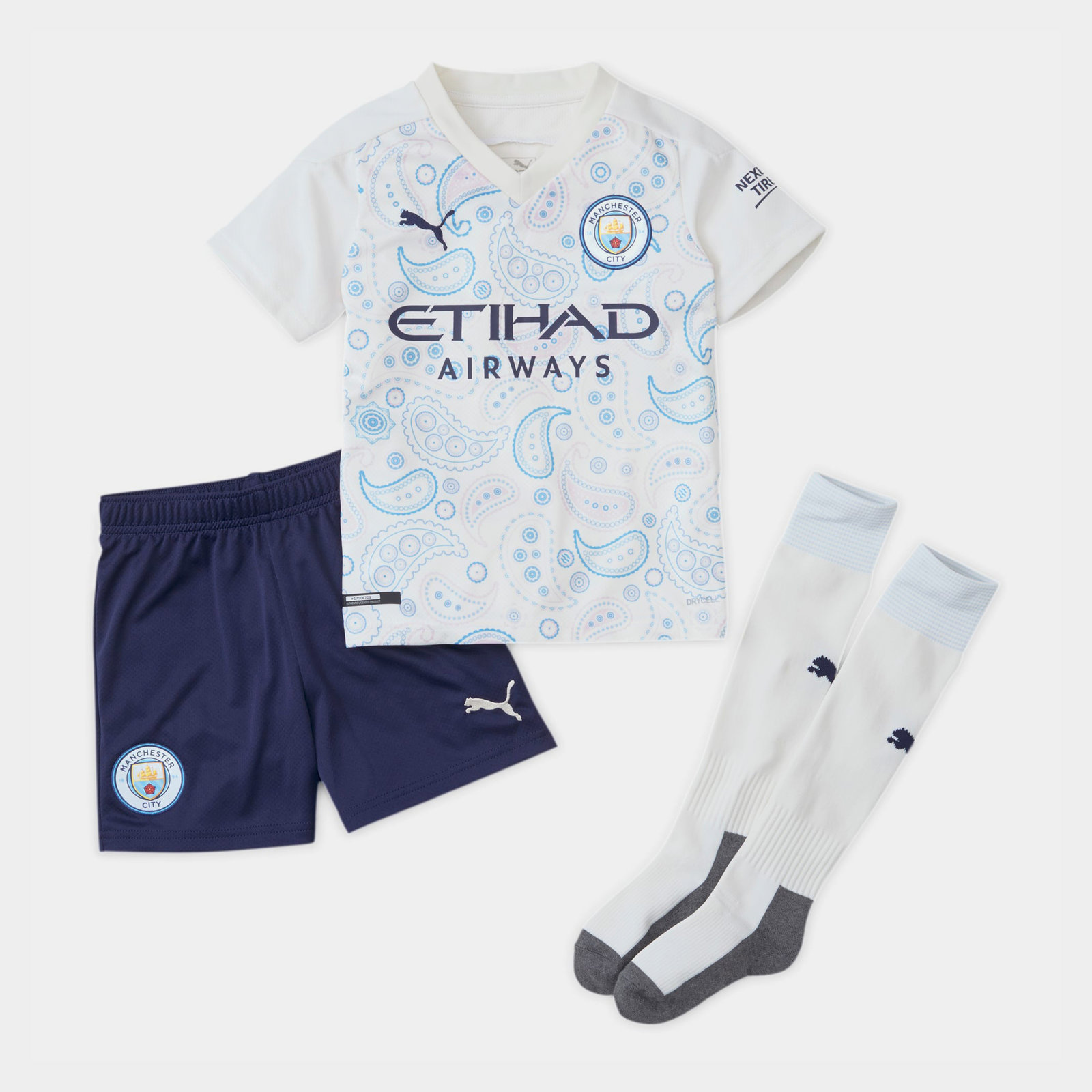 Manchester City Third Mini Kit 20/21