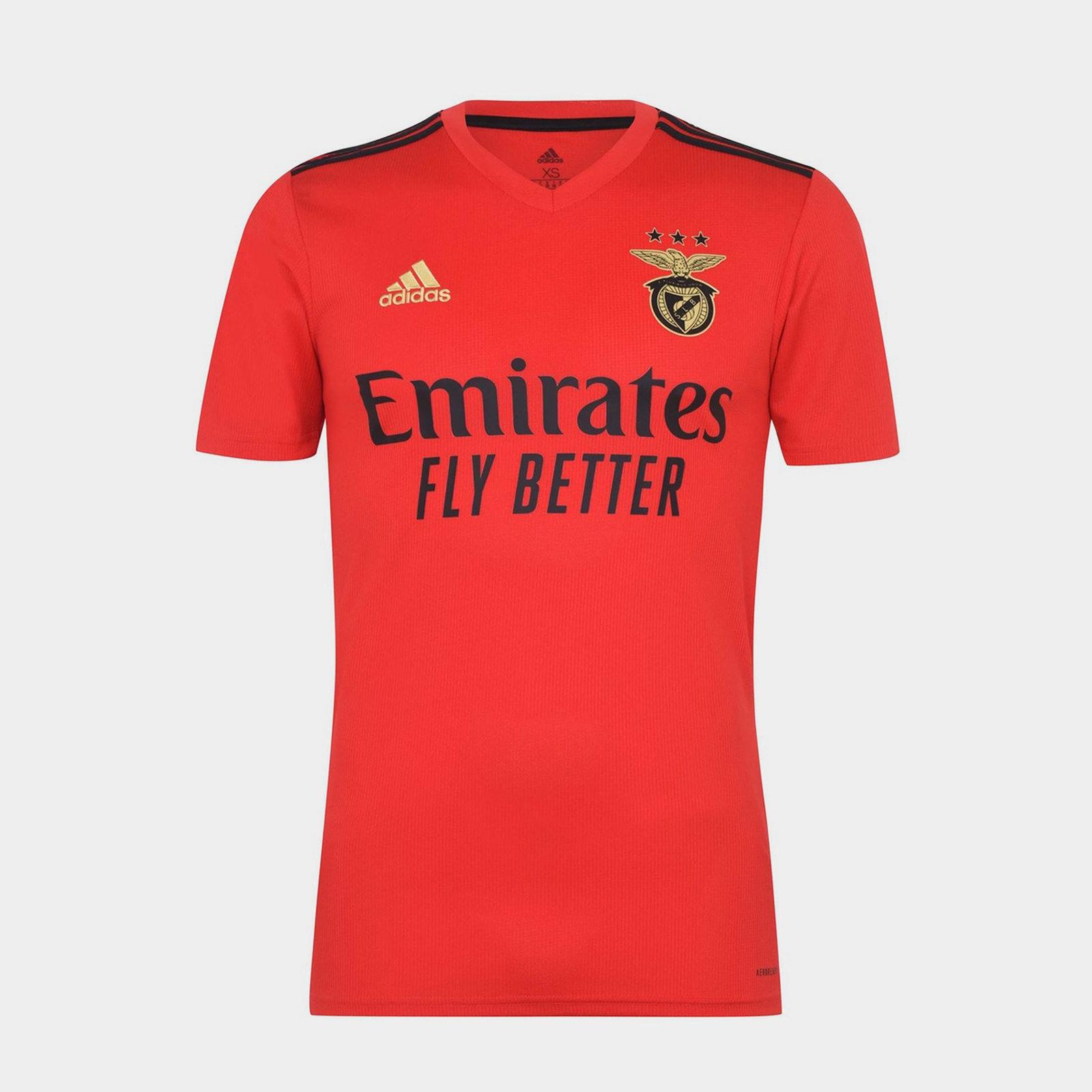 Benfica Home Shirt 20/21 Mens