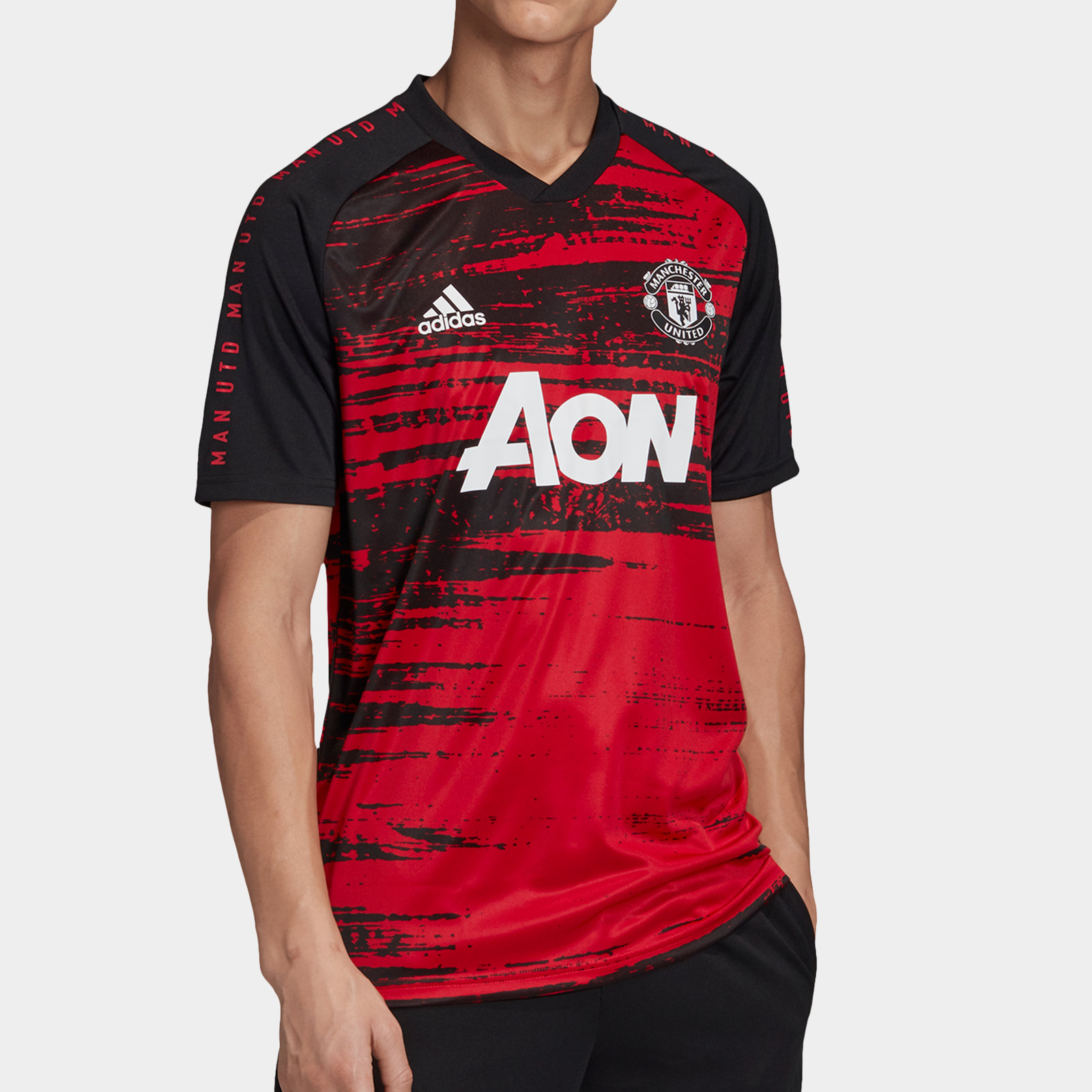 Manchester United pre match shirt