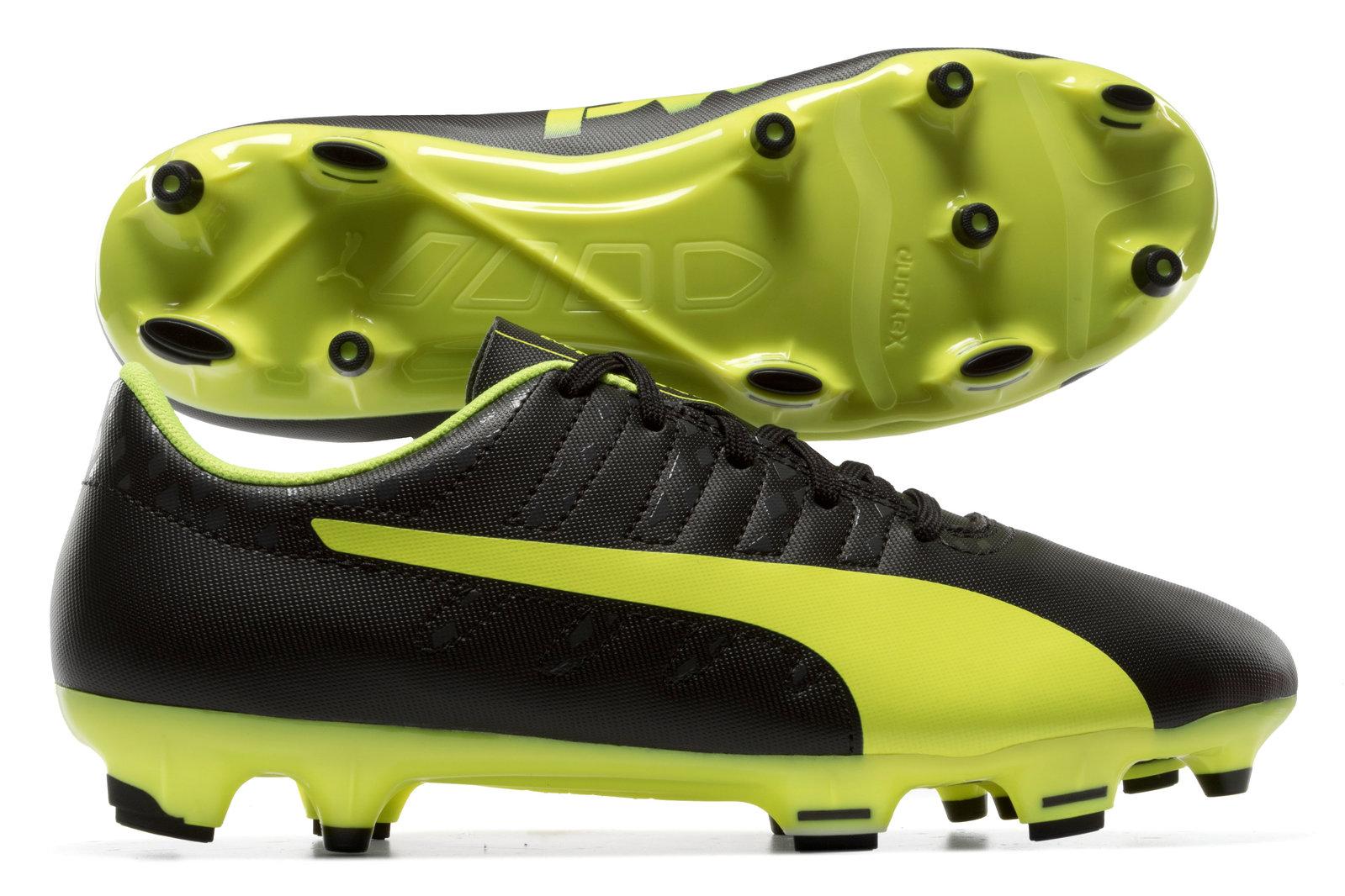 Puma evoPOWER Vigor 4 FG Kids Football Boots Image
