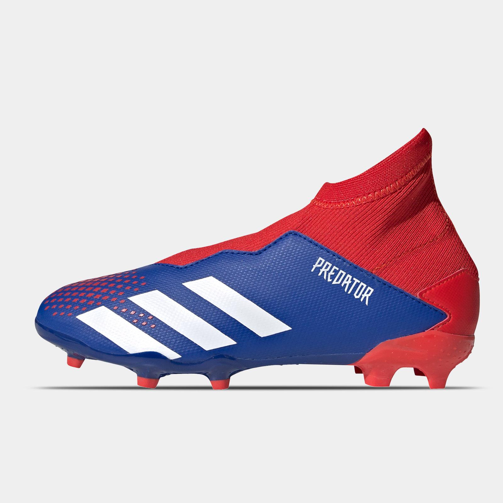 Predator 20.3 Laceless Junior FG Football Boots