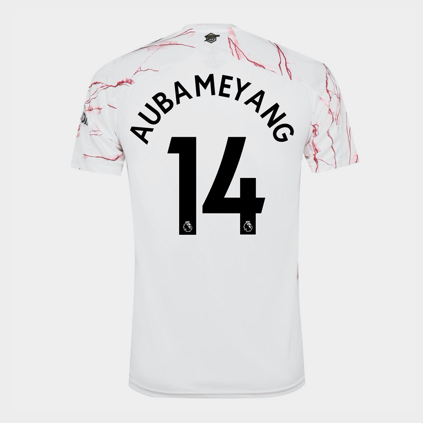 Arsenal Auba Away Shirt 20/21 Mens
