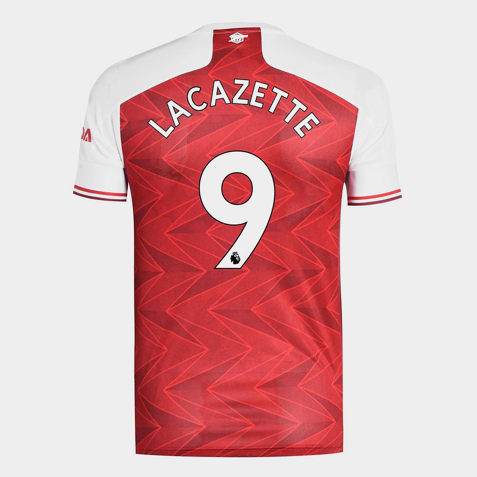 Arsenal Alexandre Lacazette Home Shirt 20/21 Mens