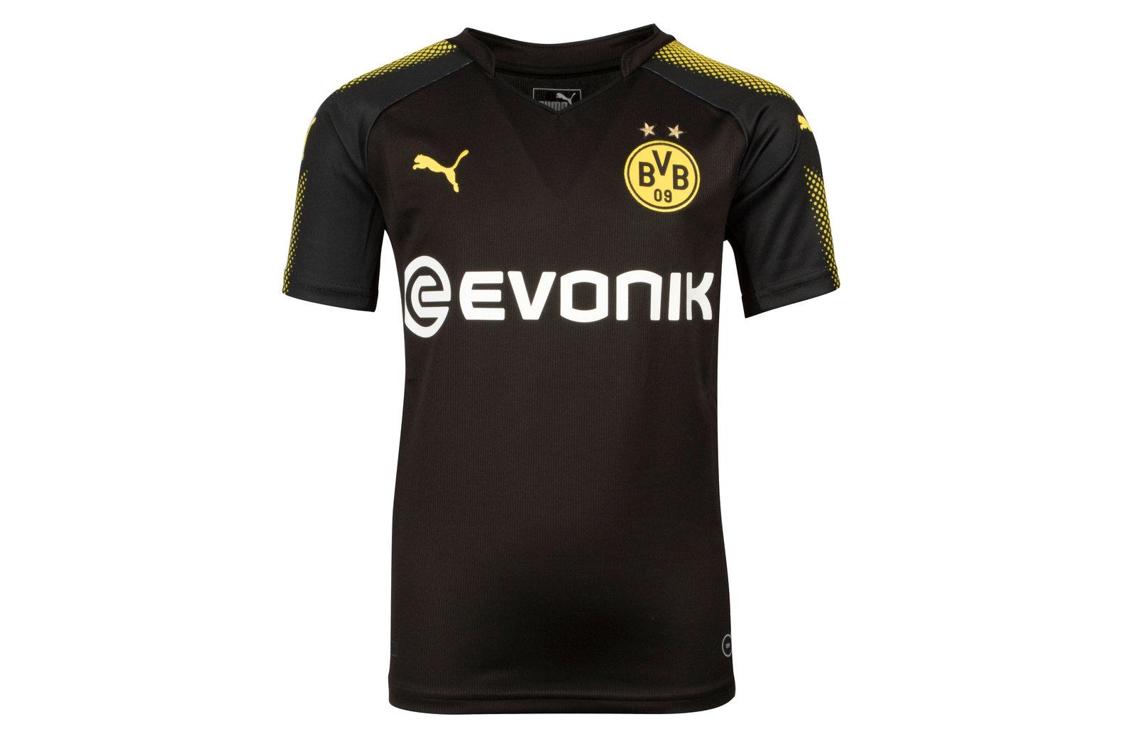 Borussia Dortmund 17/18 Kids Away short sleeve Football Shirt