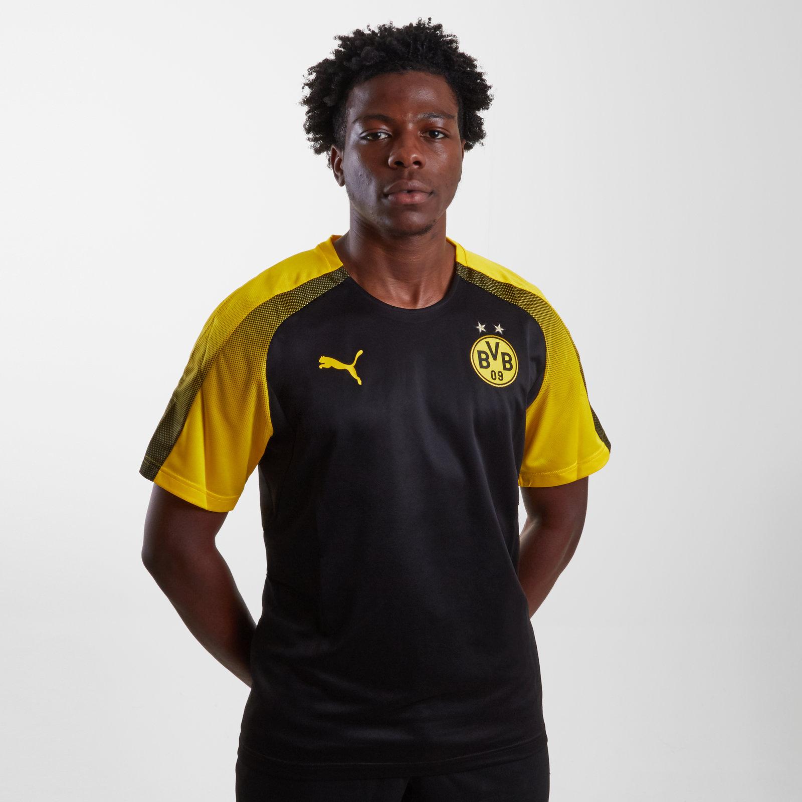Borussia Dortmund 17/18 Players Stadium short sleeve Football Shirt