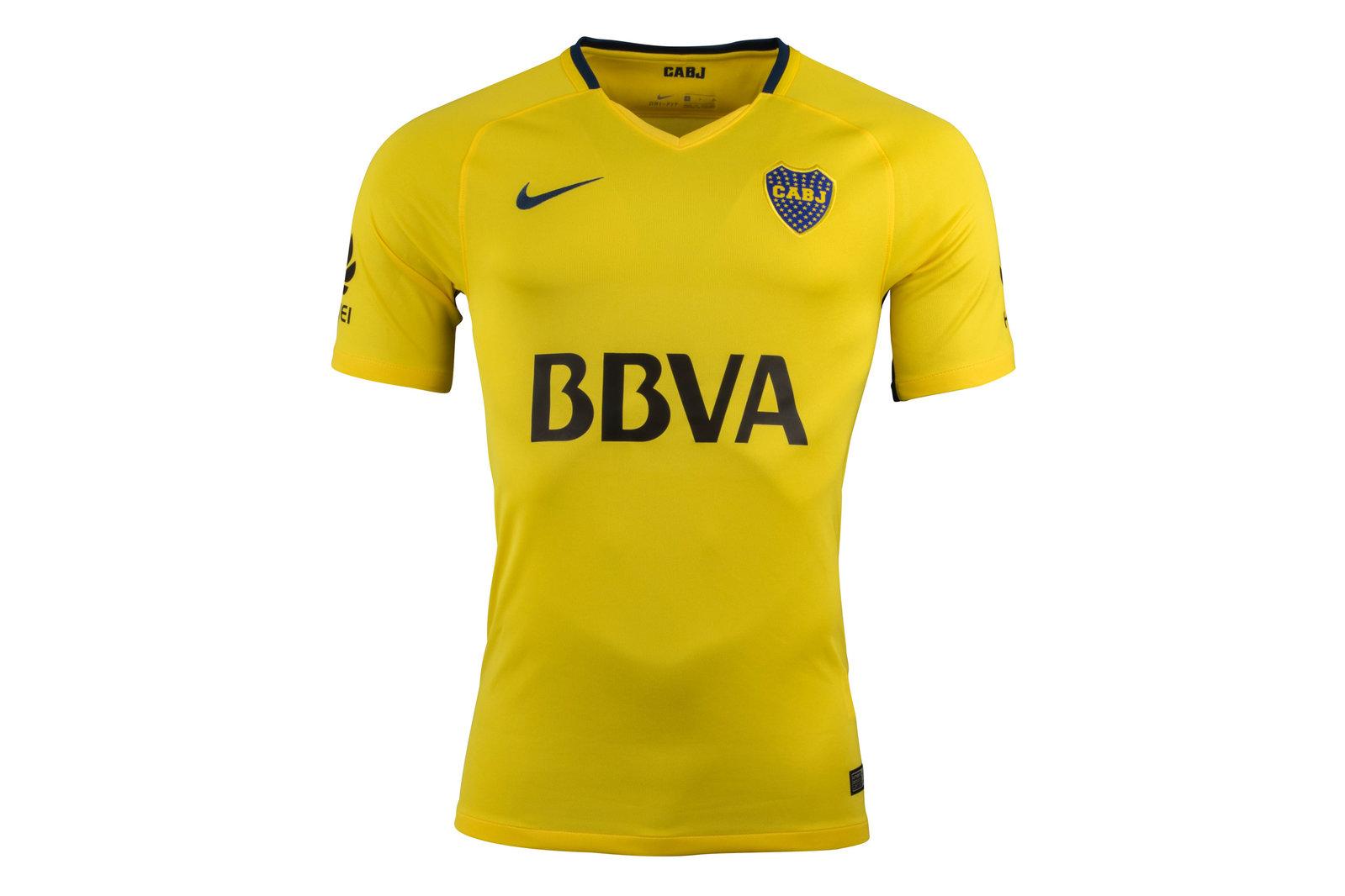 Boca Juniors 17/18 Away short sleeve Replica Football Shirt