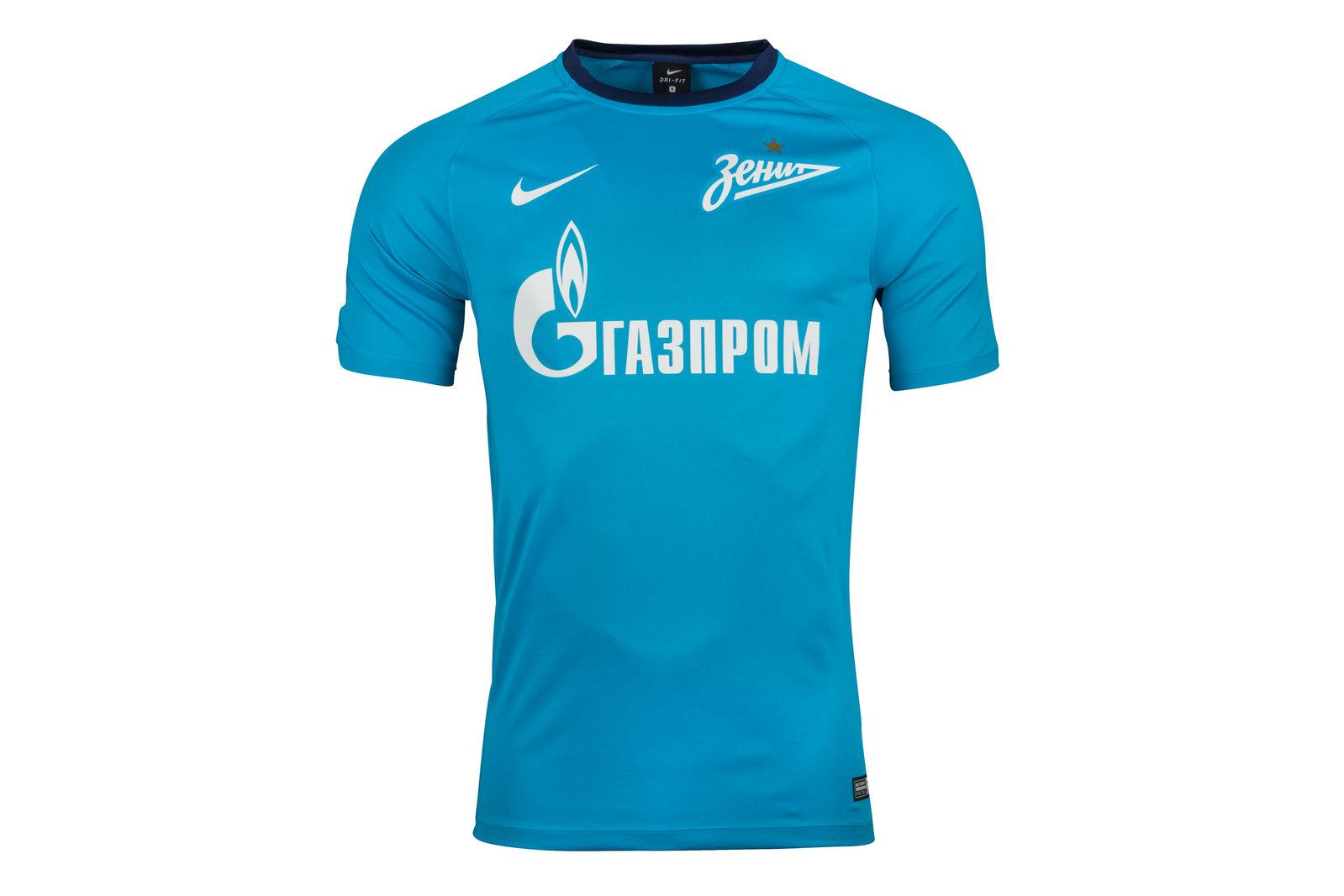 FC Zenit St Petersburg 17/18 Home Dry Breathe Football Shirt