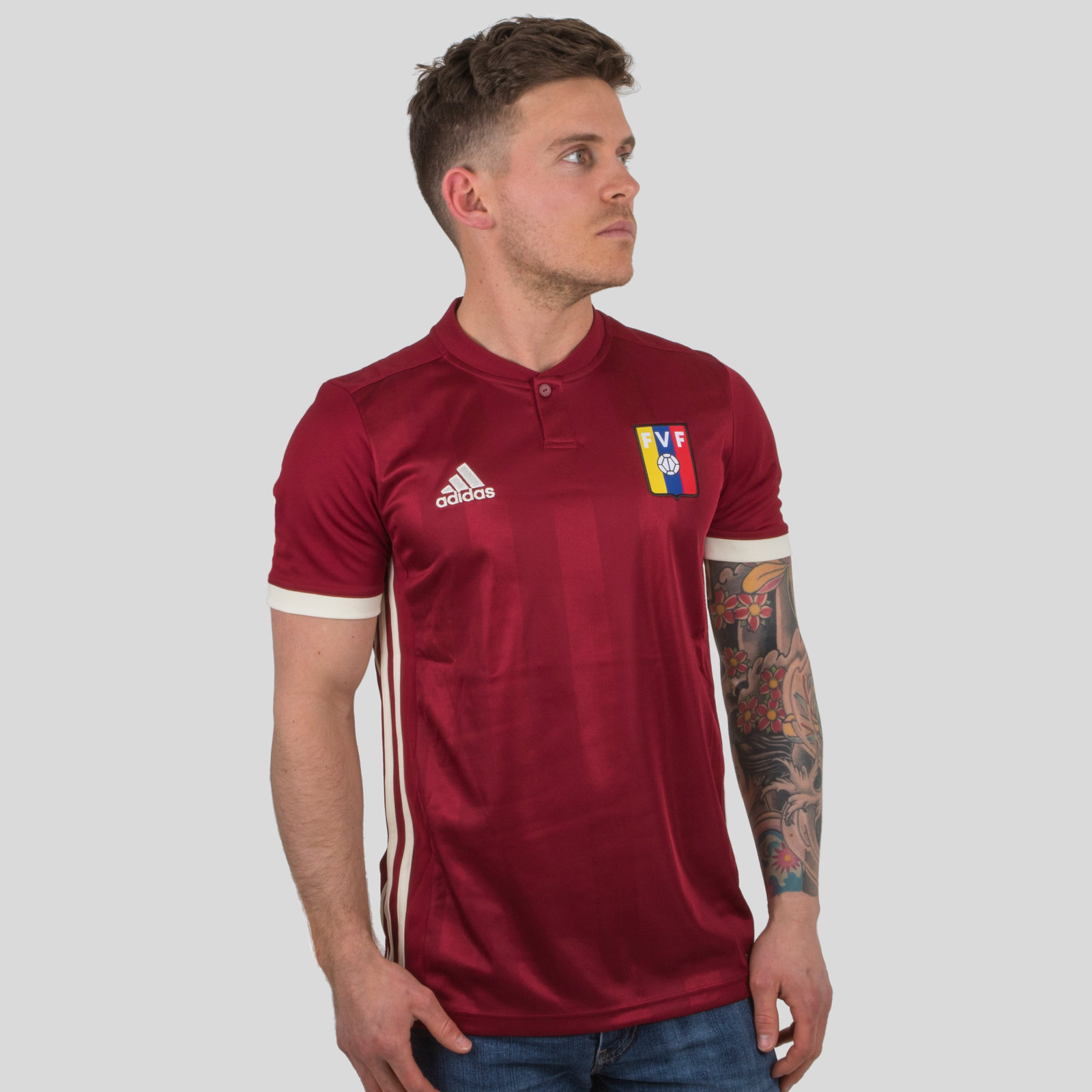 Venezuela 2018 Home short sleeve Replica Football Shirt