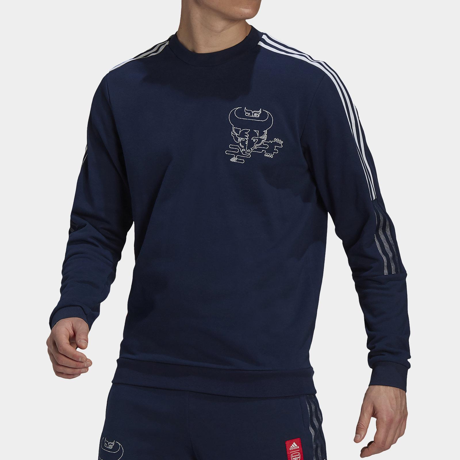 Arsenal Chinese New Year Crew Neck Sweatshirt Mens