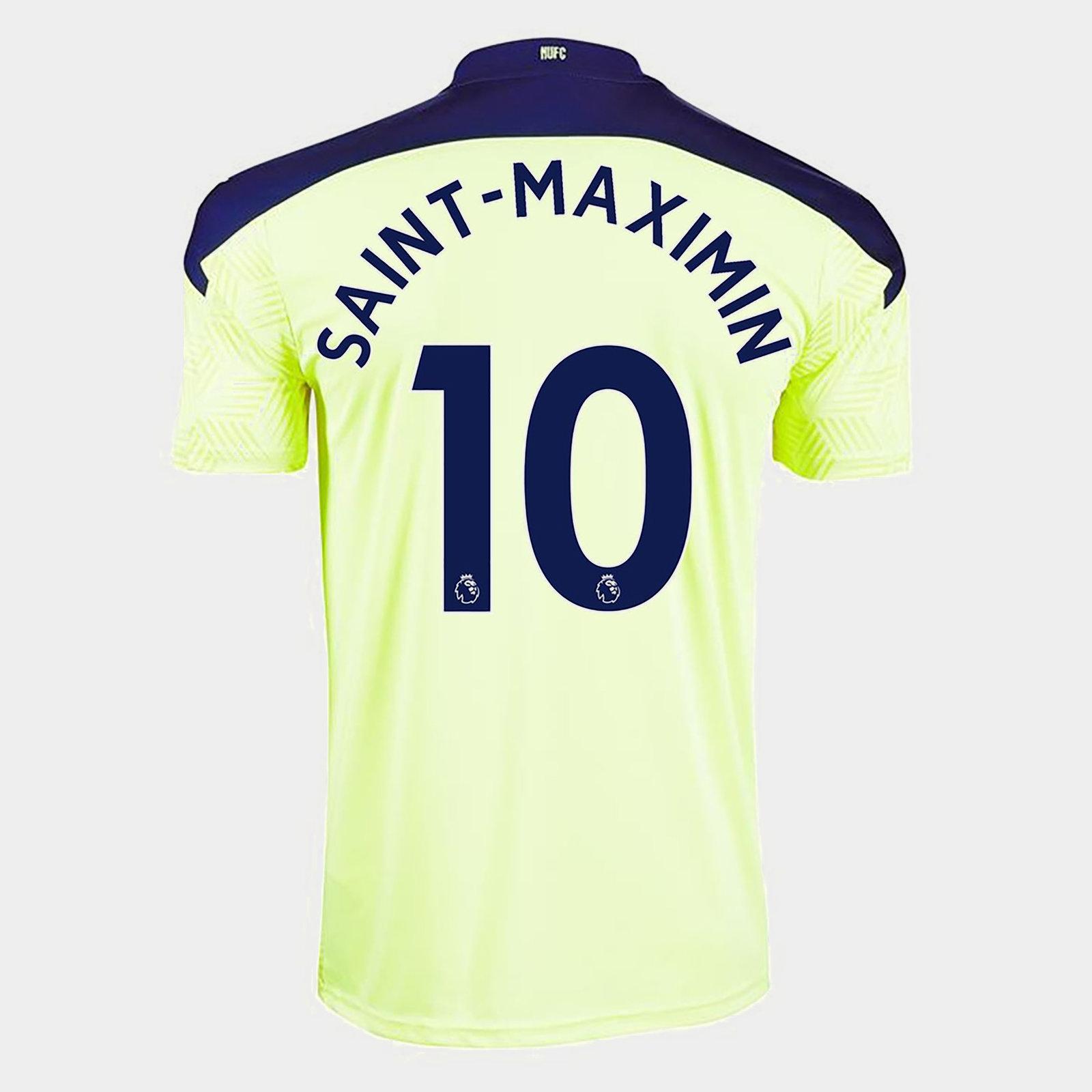 Newcastle United Allan Saint Maximin Away Shirt 20/21 Mens