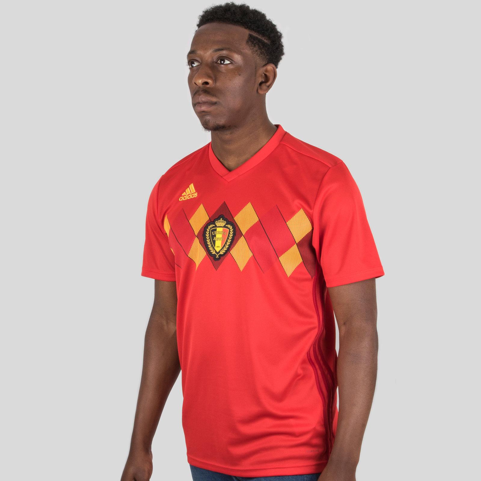 Belgium 2018 Home short sleeve Replica Football Shirt