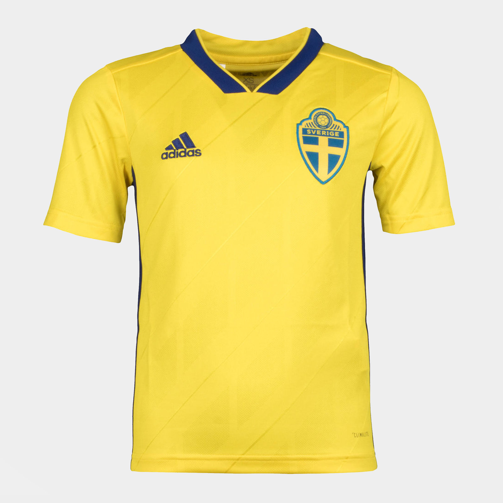Sweden 2018 Youth Home short sleeve Replica Football Shirt