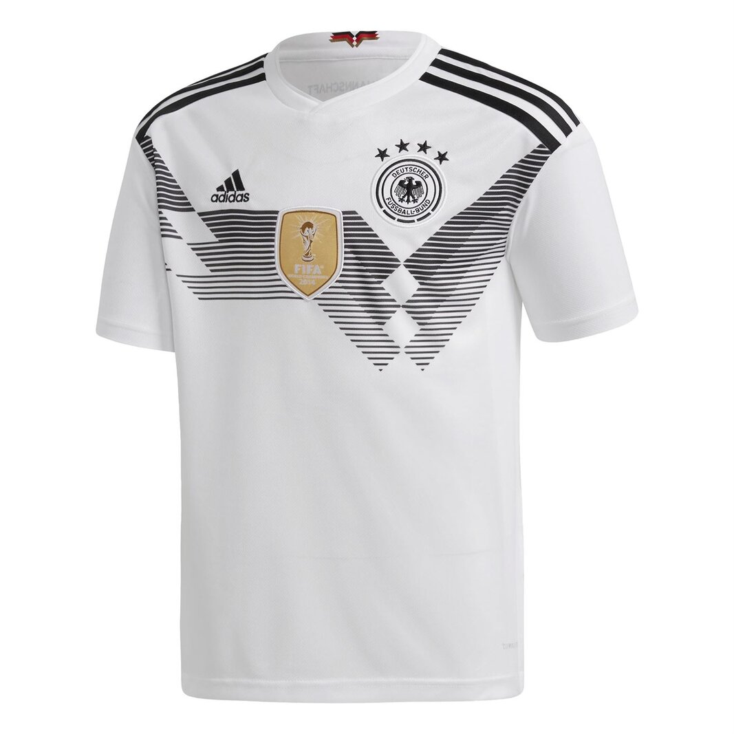 Germany 2018 Home Youth short sleeve Replica Football Shirt