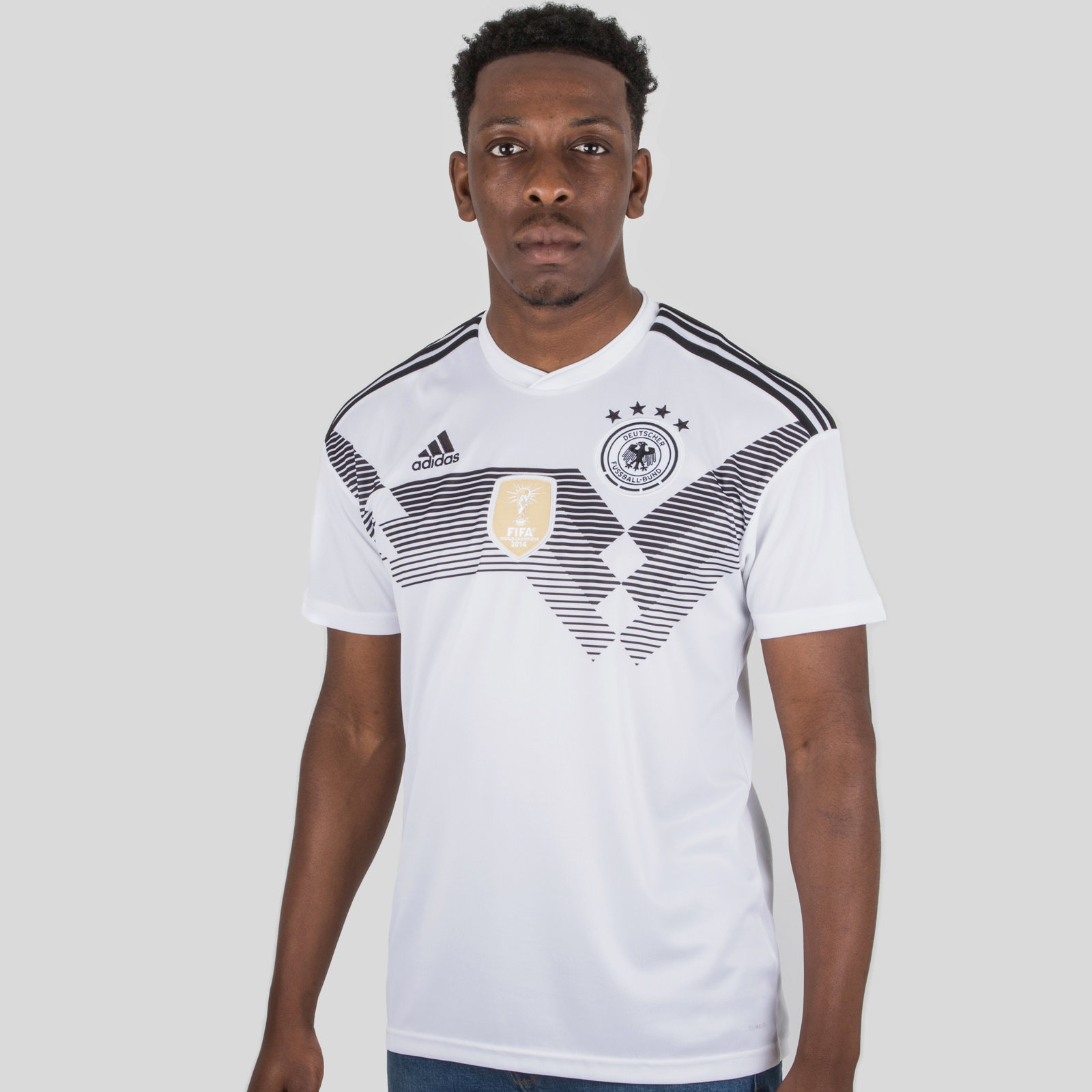 Germany 2018 Home short sleeve Replica Football Shirt