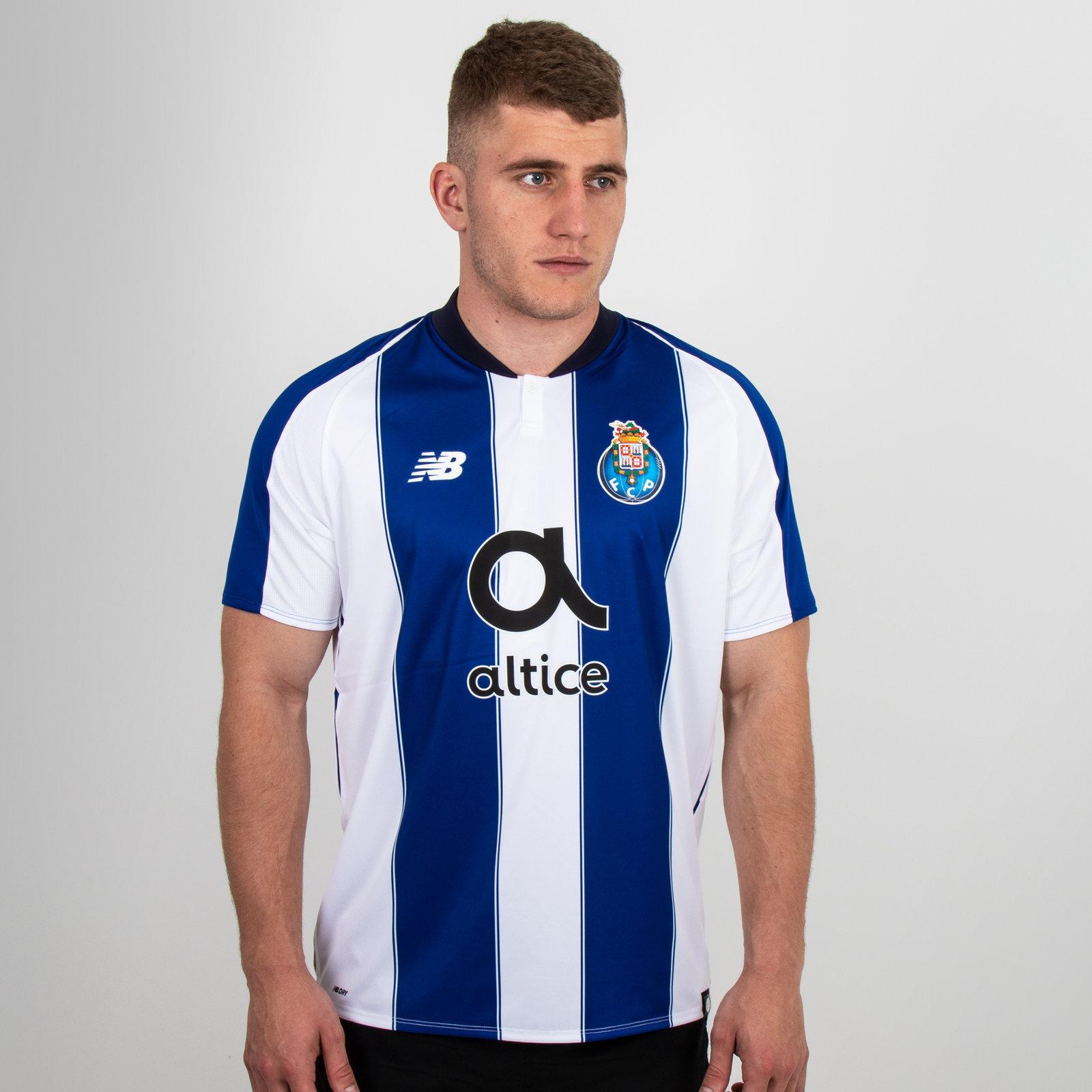 FC Porto 18/19 Home short sleeve Replica Football Shirt