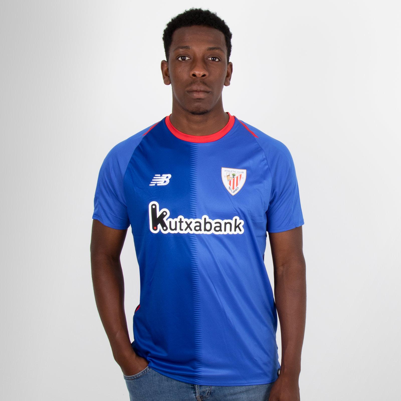 Athletic Bilbao 18/19 Away short sleeve Replica Football Shirt