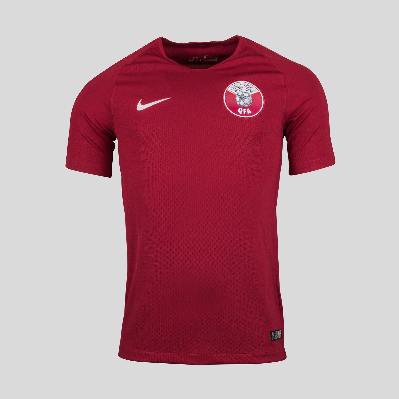 Qatar 2018 Home short sleeve Stadium Football Shirt