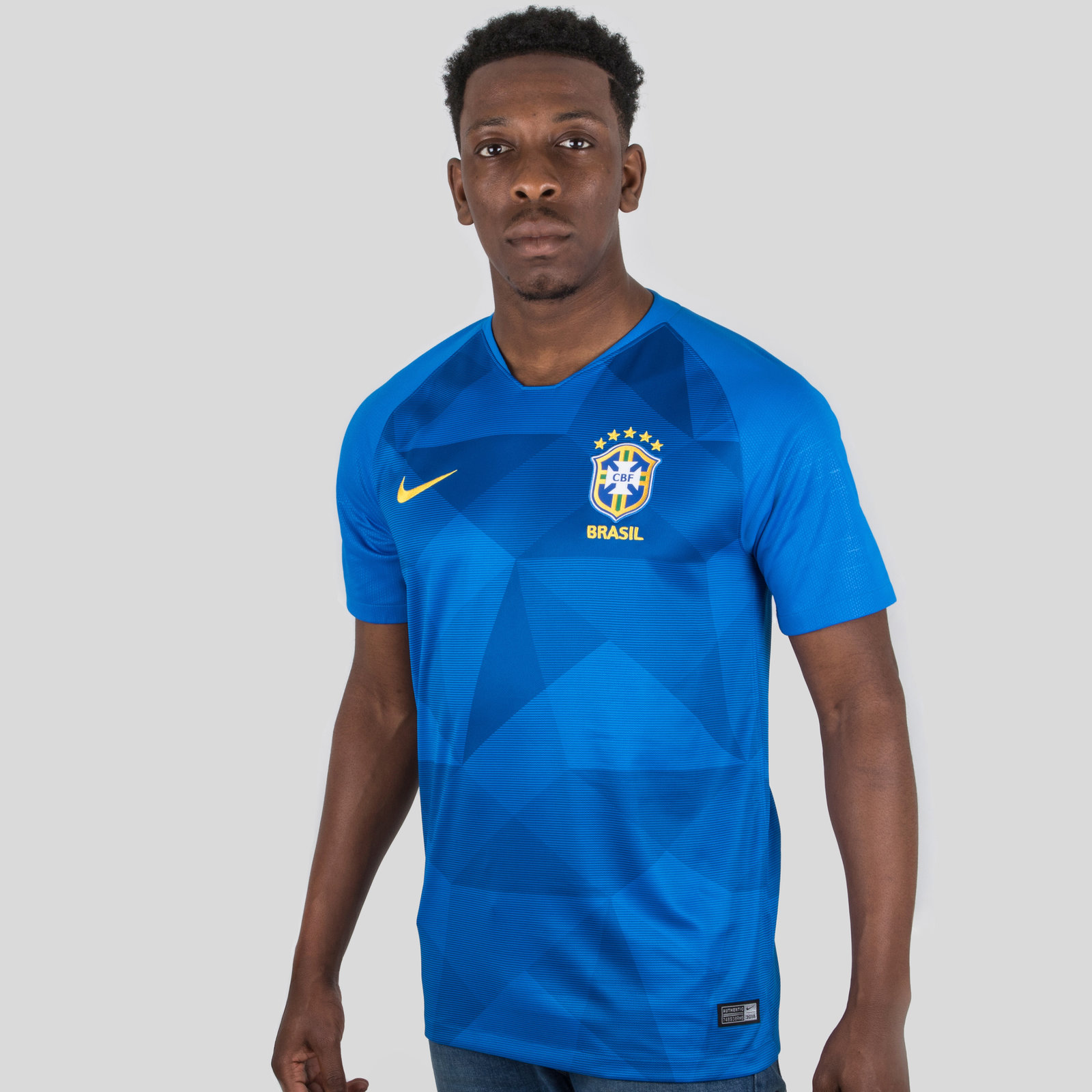Brazil 2018 Away short sleeve Stadium Football Shirt