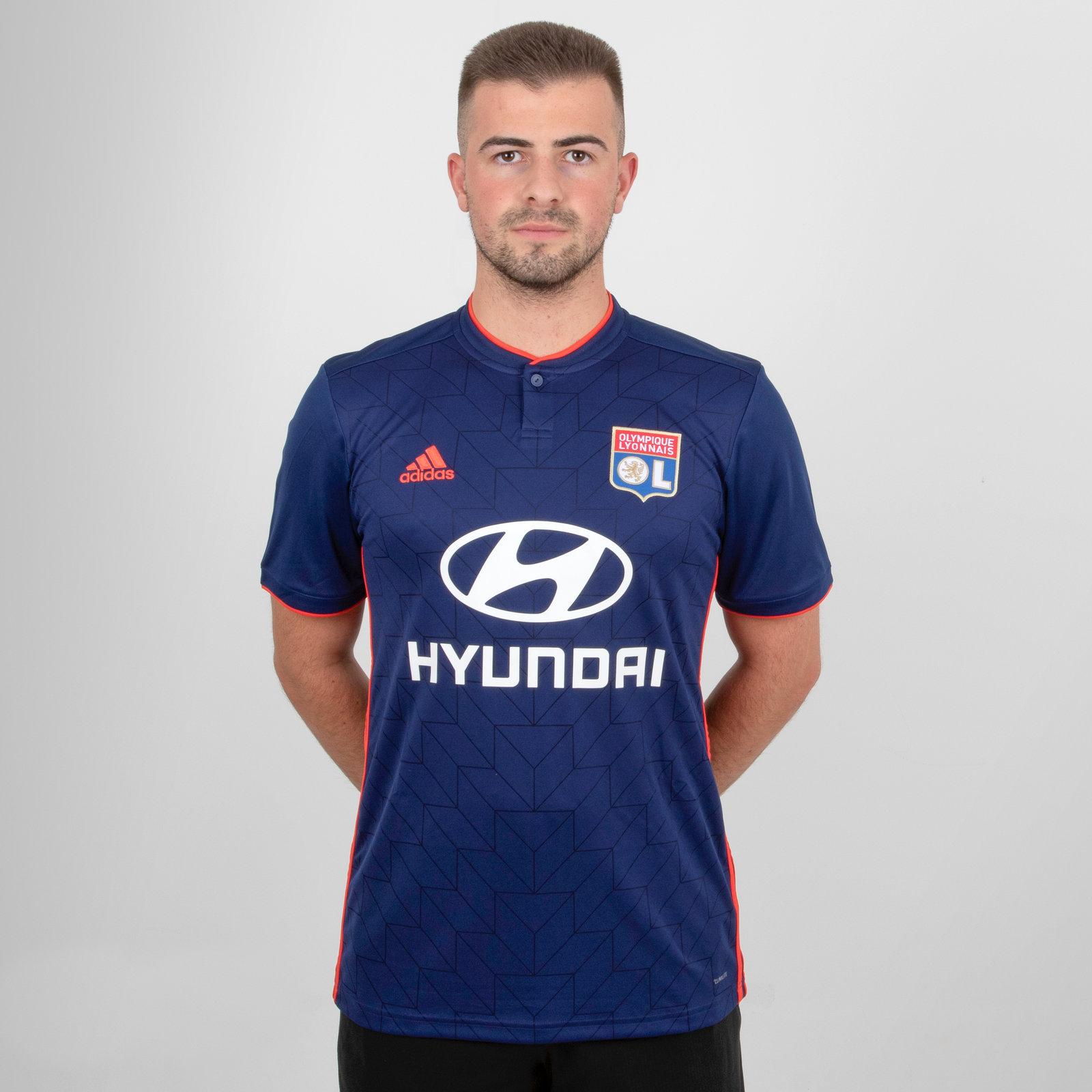 Olympique Lyon 18/19 Away short sleeve Replica Football Shirt