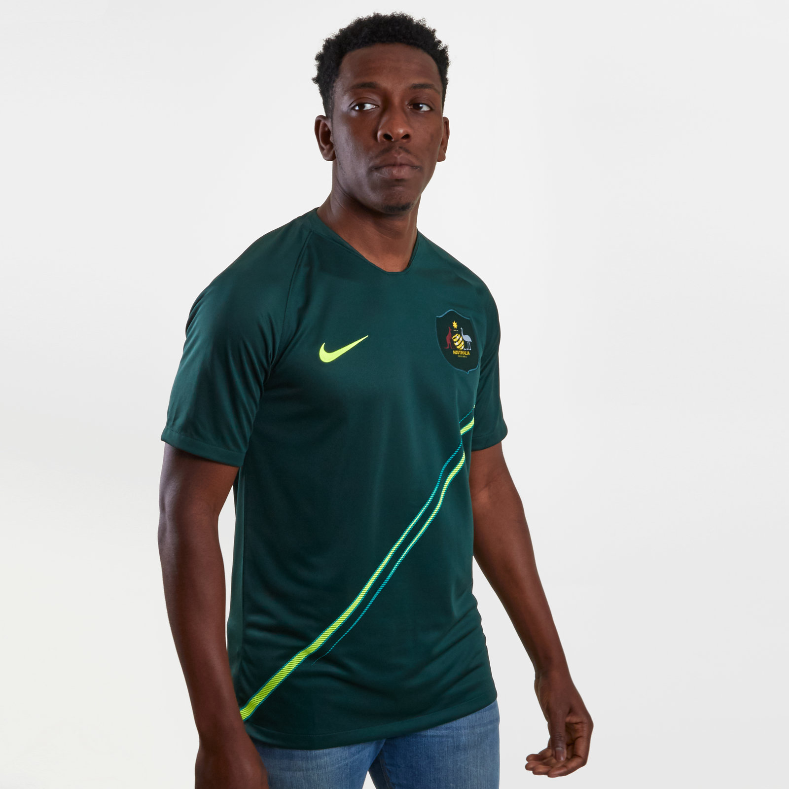 Australia 2018 Away short sleeve Stadium Football Shirt