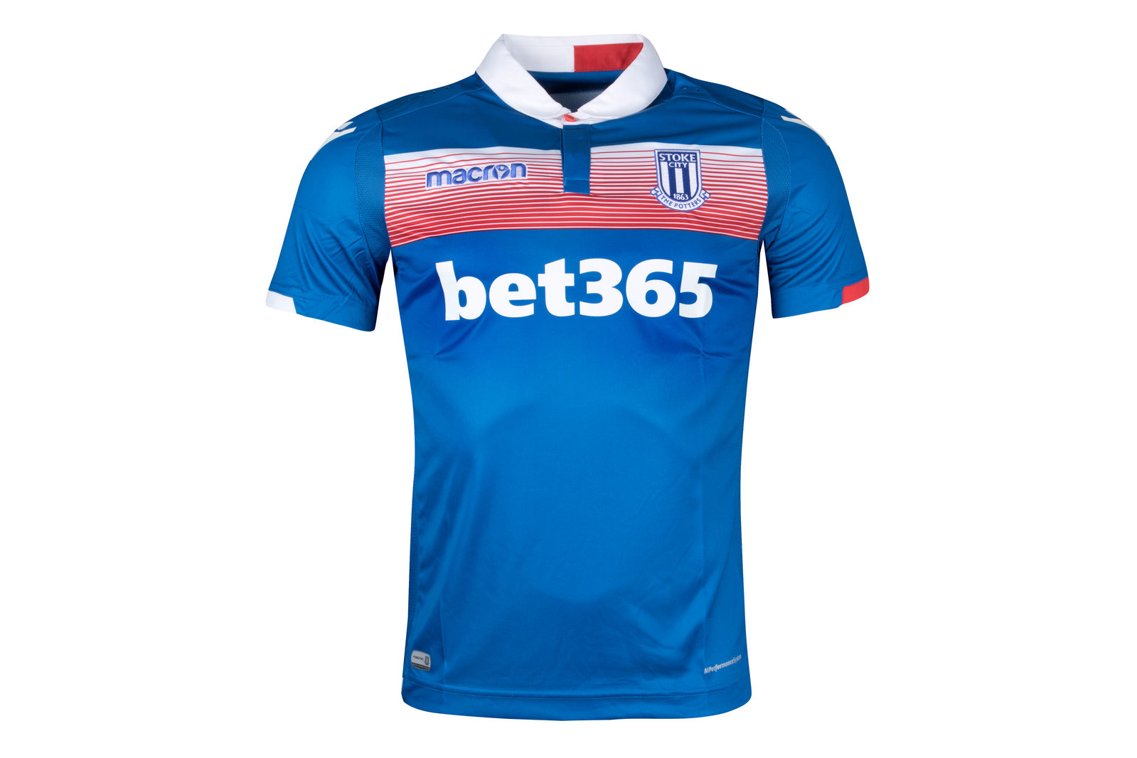 Stoke City 17/18 Away short sleeve Football Shirt