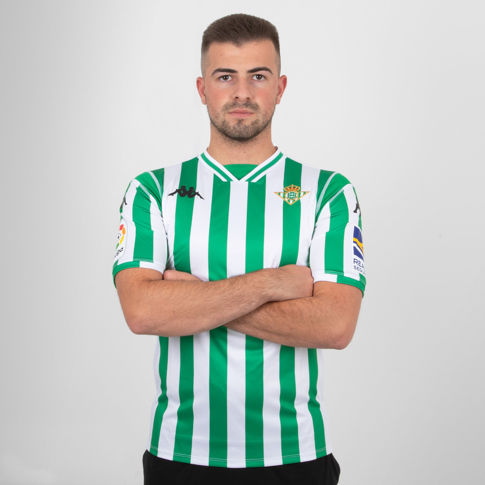 Real Betis 18/19 Home short sleeve Replica Football Shirt