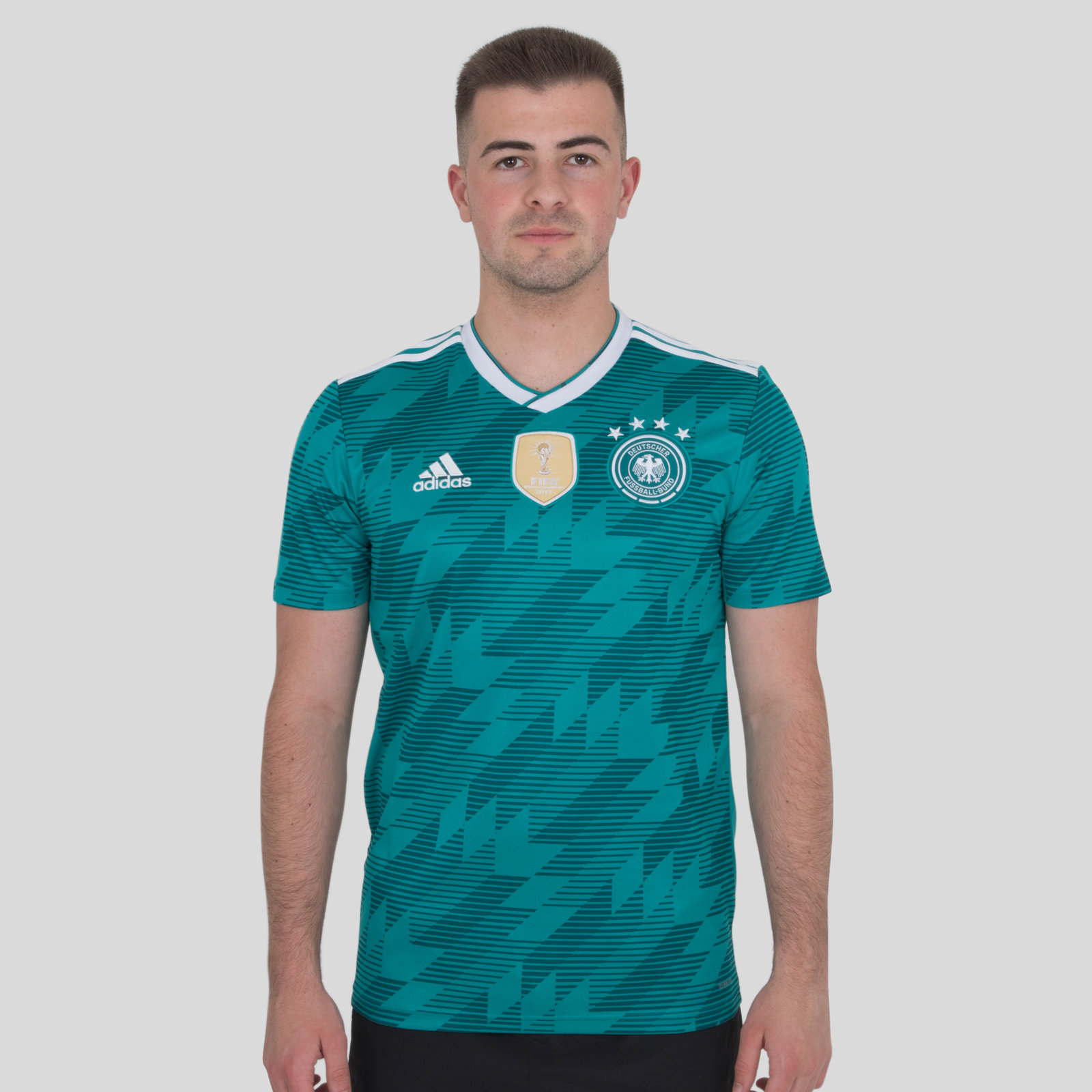 Germany 2018 Away short sleeve Replica Football Shirt