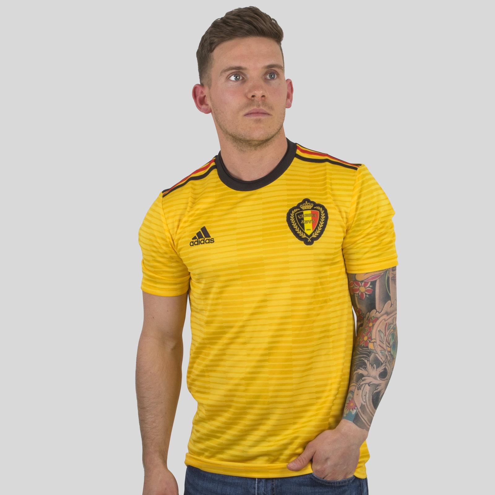 Belgium 2018 Away short sleeve Replica Football Shirt