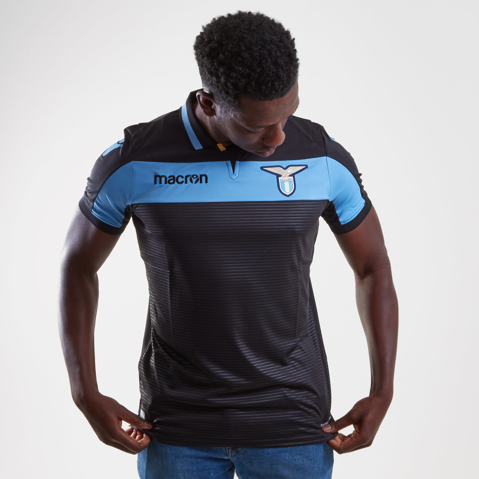 Lazio 18/19 3rd short sleeve Football Shirt