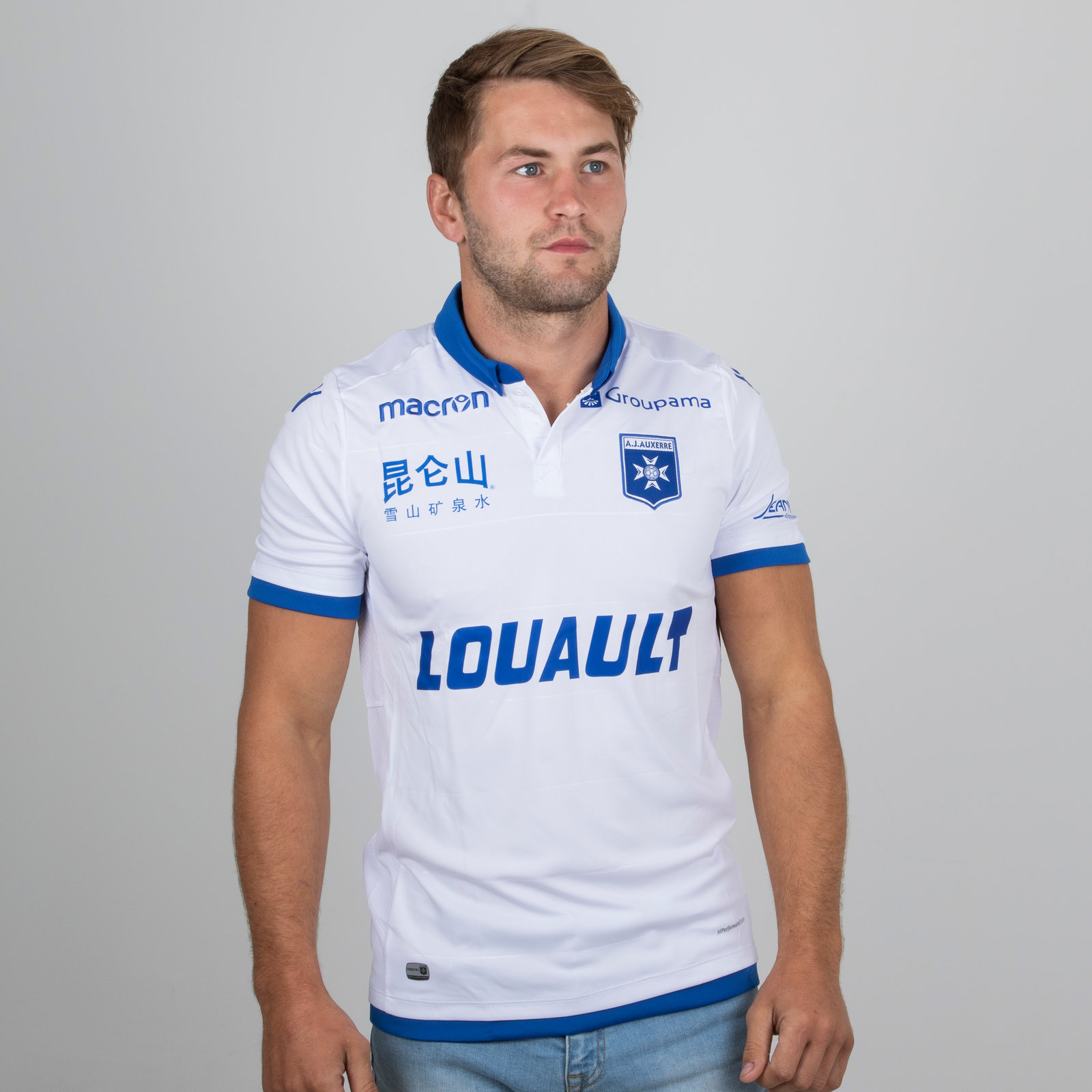 Auxerre Home Shirt