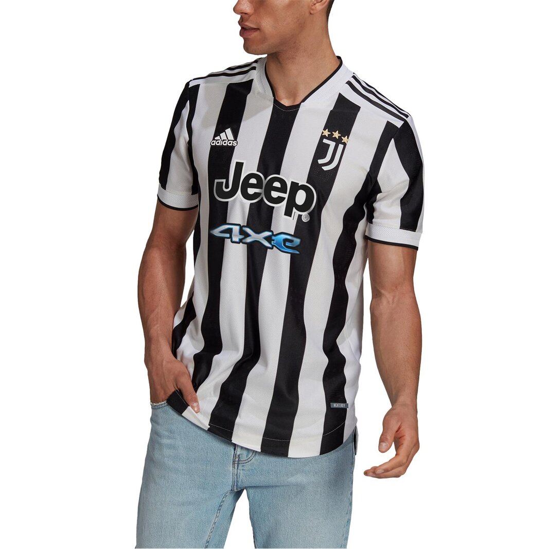 Juventus Authentic Home Shirt 2021 2022