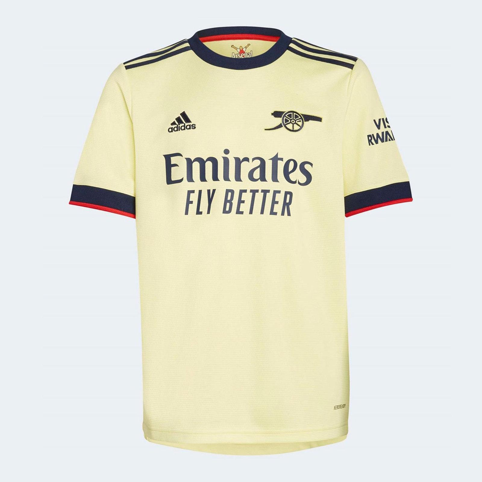 Arsenal Away Shirt 2021 2022 Junior