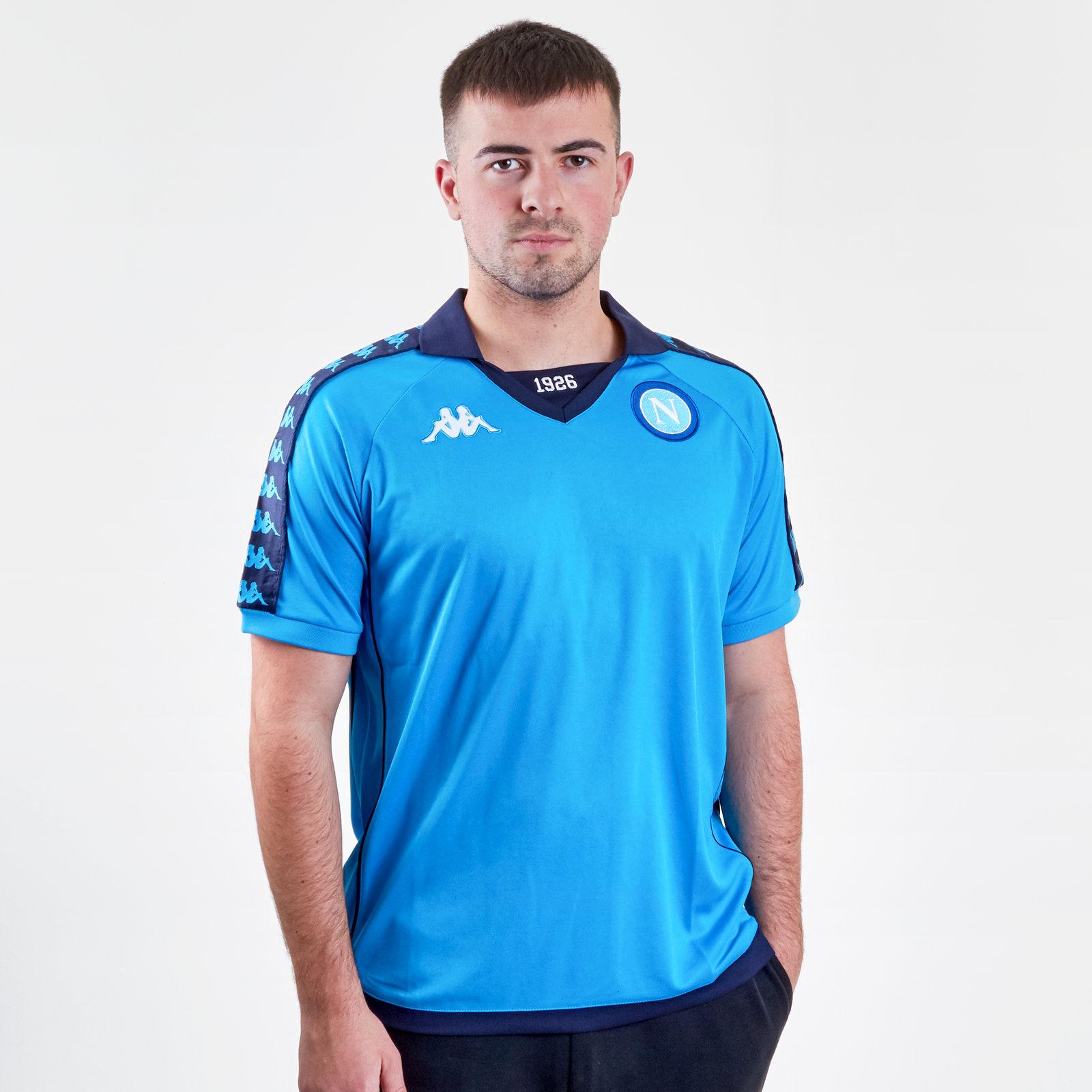 Napoli short sleeve Retro Football Shirt