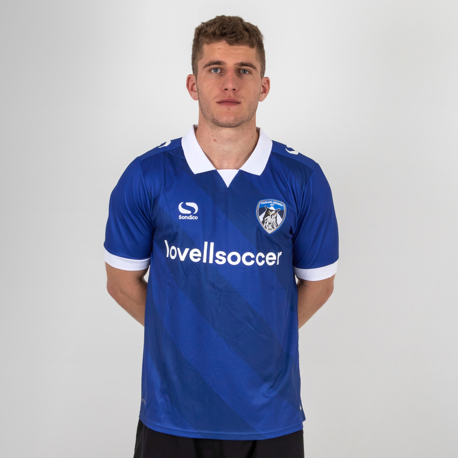 Oldham Athletic 18/19 Home Football Shirt