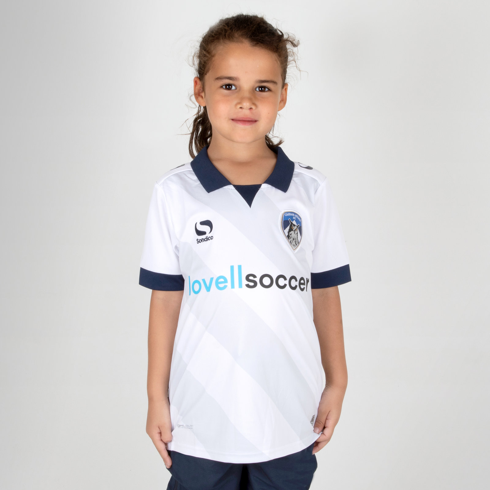 Oldham Athletic 18/19 Away Kids Football Shirt