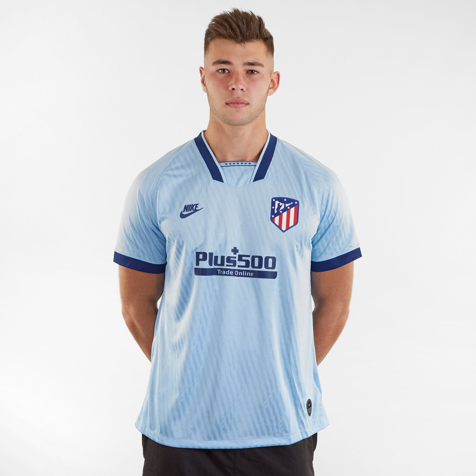 Atletico Madrid 19/20 3rd short sleeve Replica Football Shirt