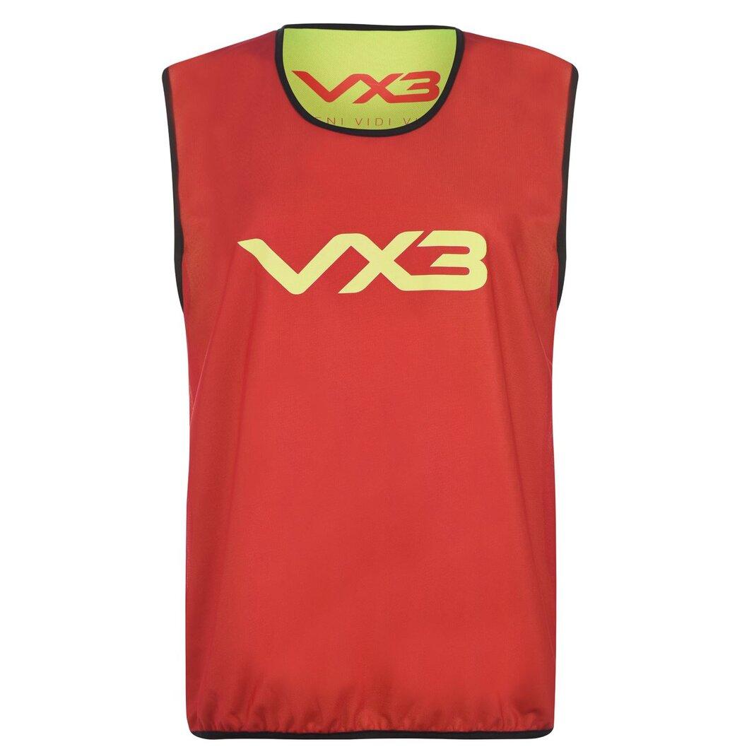 Reversible Mesh Hi Viz Training Bib Youth - 10 pack