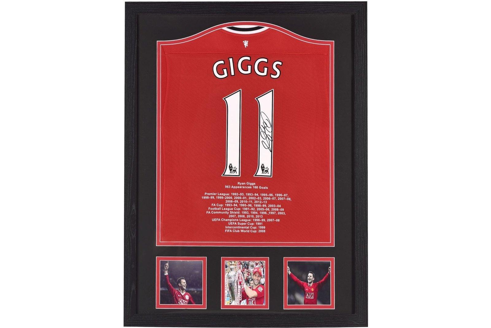 Ryan Giggs Hand Signed Shirt