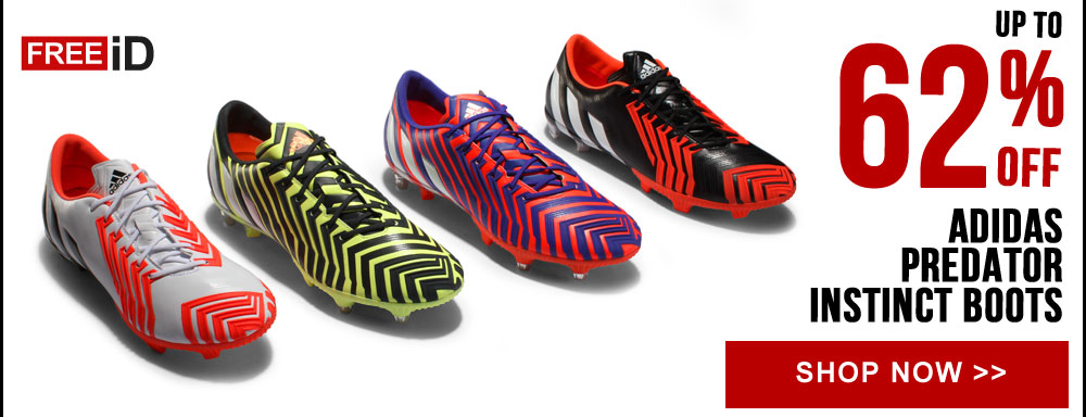 Up to 62% off Predator Football Boot Collection