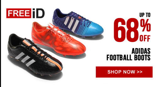 Up to 68% off the adidas Boot Collection