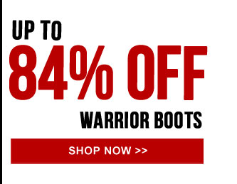 Up to 84% off the Warrior Boot collection