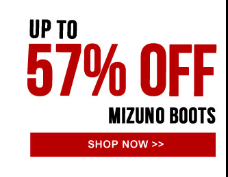 Up to 57% off the Mizuno Boot Collection