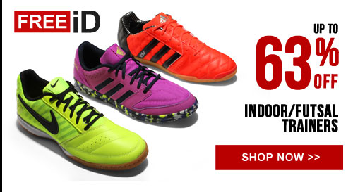 Up to 63% off Indoor/Futsal Trainers