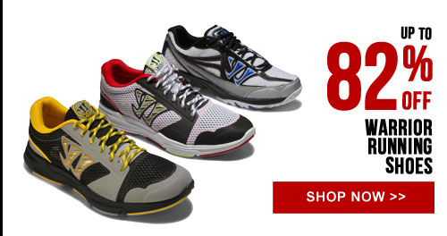 Up to 82% off Warrior Running Shoes