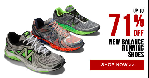 Up to 71% off New Balance Running Shoes